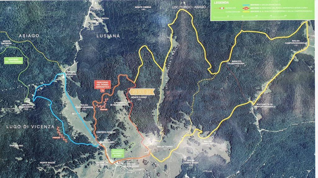 Itinerari-monte-corno-mappa