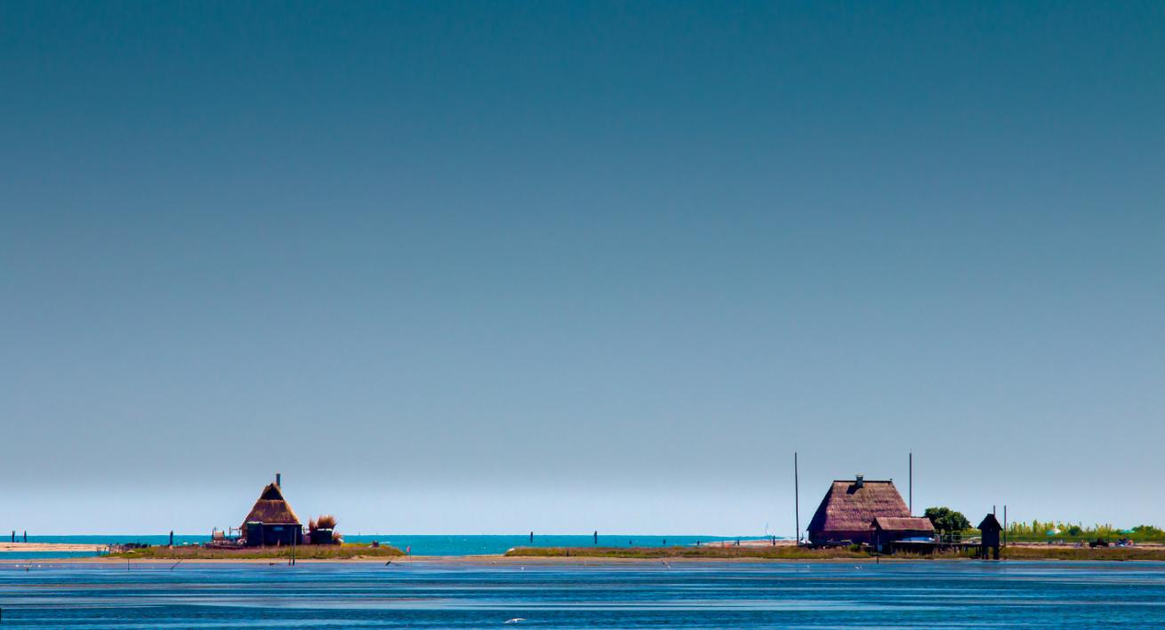 Laguna di Marano casini