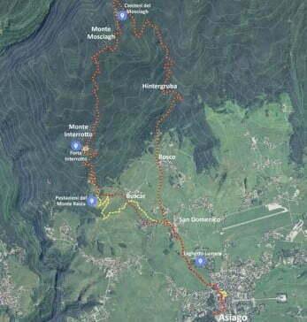 mappa-trekking-forte-interrotto-asiago